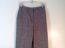Great Used Condition Charter Club Petite Brown Tweed Pants Size 8P image 2