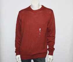 Men's Croft & Barrow Red Balm Crewneck Sweater Size XL New with Tags - $24.75