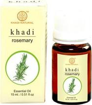 Khadi Herbal Rosemary Essential oil - 15ml - $12.51