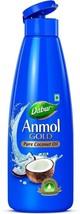 Dabur Anmol Gold Pure  Nourishmen Coconut Oil, ... - $15.01