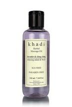 Khadi Natural Lavender & Ylang Ylang Massage Oi... - $13.18