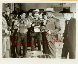 Dave O'brien The Singing Cowgirl Org Photo Lot h986 - $14.99
