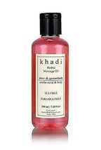 Khadi Natural Rose &Geranium Massage oil (Soothes Mind & Body )Without M... - $14.98