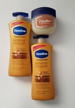 Vaseline Intensive Care Body Lotion Almond Smooth dry skin winter vitamin E - $18.69