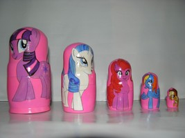 My Little Pony nesting doll - $18.99