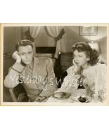 Ida LUPINO William PRINCE Pillow to POST Vintage PHOTO - $19.99
