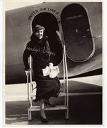 Ann SHAW Mrs. HERBERT Mundin UNITED Airlines OR... - $9.99