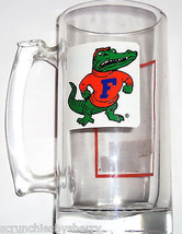 University of Florida Gators Glass Beer Mug Stein  NCAA  College UF  - $39.95