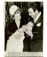 Constance BENNETT Gilbert ROLAND Baby ORG Press PHOTO - $9.99