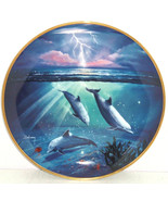 Storm of the Dolphins Collector Plate Franklin ... - $49.95