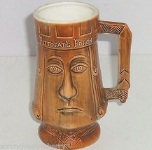 Pittypats Porch Tiki Mug Ceramic Collectors Vintage Retired Gone with th... - $34.95