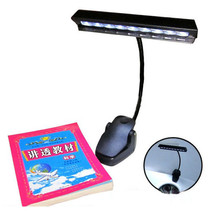 Table Lamp 9 LED Clip Light Orchestra Arm Flexible Music Stand Adapter B... - €20,40 EUR