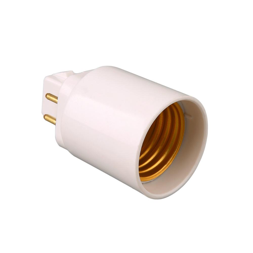 4 pins lamp socket adapter GX24Q to E27 Bulb Holder Socket bulb base lamp holder, used for sale  USA
