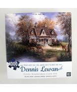 Dennis Lewan Art Puzzle Welcome Company Cottage Deer Karmin 1000pc 27x20... - $15.79
