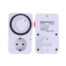 1pc 24 Hour Energy Saver Mechanical Electrical Plug Program Timer Power ... - €12,80 EUR