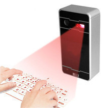 Ovative wireless bluetooth laser projection virtual keyboard for phone pc tablet laptop thumb200