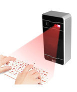 Mecall Innovative Wireless Bluetooth Laser Projection Virtual Keyboard f... - £37.37 GBP
