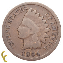 1894/1894 Indian Cent 1C Penny FS# 1C 011 Breen #2024 Snow 1 (Good, G Co... - $59.39