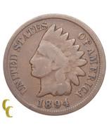 1894/1894 Indian Cent 1C Penny FS# 1C 011 Breen #2024 Snow 1 (Good, G Co... - $1.227,79 MXN