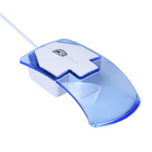 Mosunx Latest Design LED Optical Wired Gaming Game Mice Mouse July 19 - $9.98