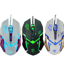 Nx new 2400dpi optical adjustable 6d button wired gaming mouse mice for pc gamer sep 01 thumb200