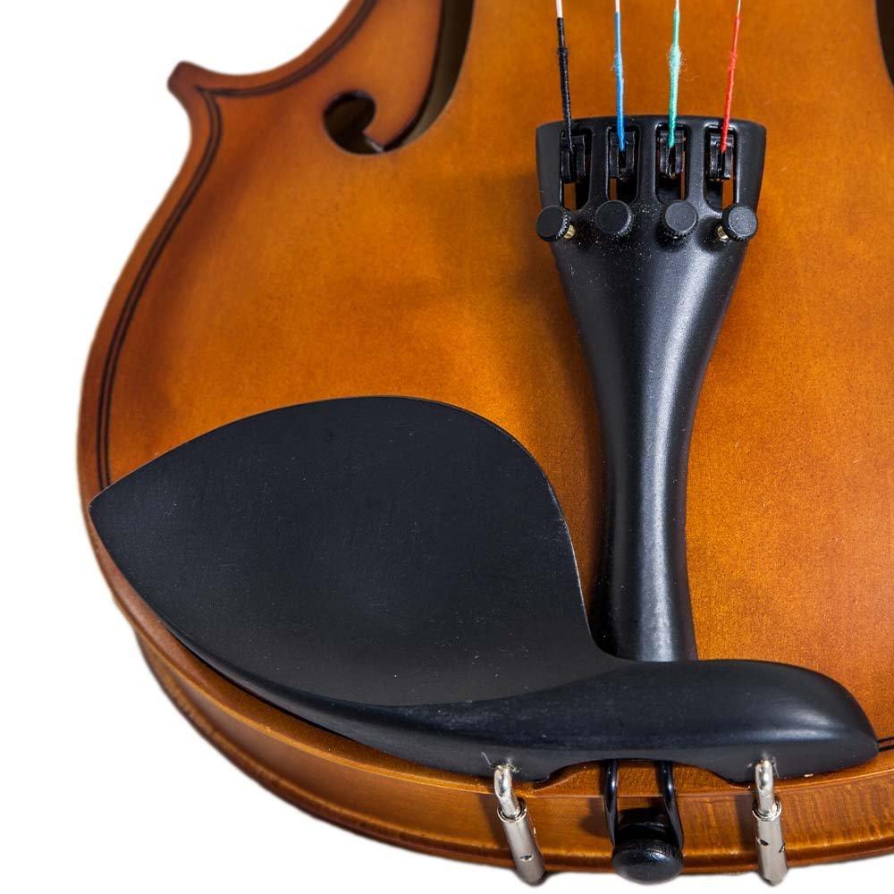 Paititi 1/2 Size Artist-100 Student Violin Starter Kit with Brazilwood Bow Li...
