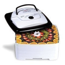 700 Watt Square SnackMaster Food and Jerky Dehydrator thermostat Fruit J... - €64,87 EUR