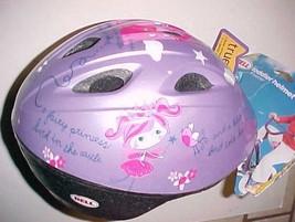 Bell Toddler True Fit Bicycle Helmet Zoomer Purple Frog Bird Fairy Princess New - $29.69