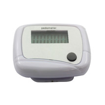 One Key, LCD Step Pedometer Counter Walking Running Simple Clip-on Pedom... - $1.99