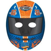 Hot Wheels Wild Racer 8 Ct Masks Birthday Party - $5.22