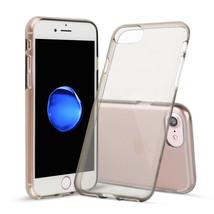 For iPhone 7 Gray Case Shamo's® TPU Rubber Transparent Soft Silicone Sho... - $6.96