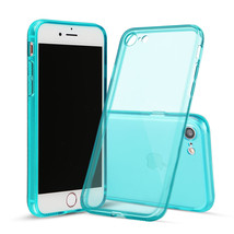 For iPhone 7 Dark Green Case Thin Rubber Transparent Soft Silicone Shock... - $6.96