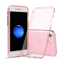 For iPhone 7 Pink Case Shamo's® TPU Rubber Transparent Soft Silicone Sho... - $6.96