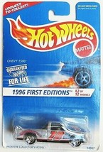 Hot Wheels CHEVY 1500 1996 First Editions Series #2 SMALL sp7 Tires 367 ... - $3.55