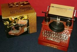Music Time Typewriter Style Gift Jewelry Box Drawer Music Box Decor Nice... - $5.93