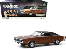 "1970 Dodge Charger R/T Dark Burnt Orange Metallic with Black Top ""Graveyard Car - $90.98"
