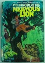 Three Investigators Mystery of the Nervous Lion no.16 Gibraltar Library ... - $10.00