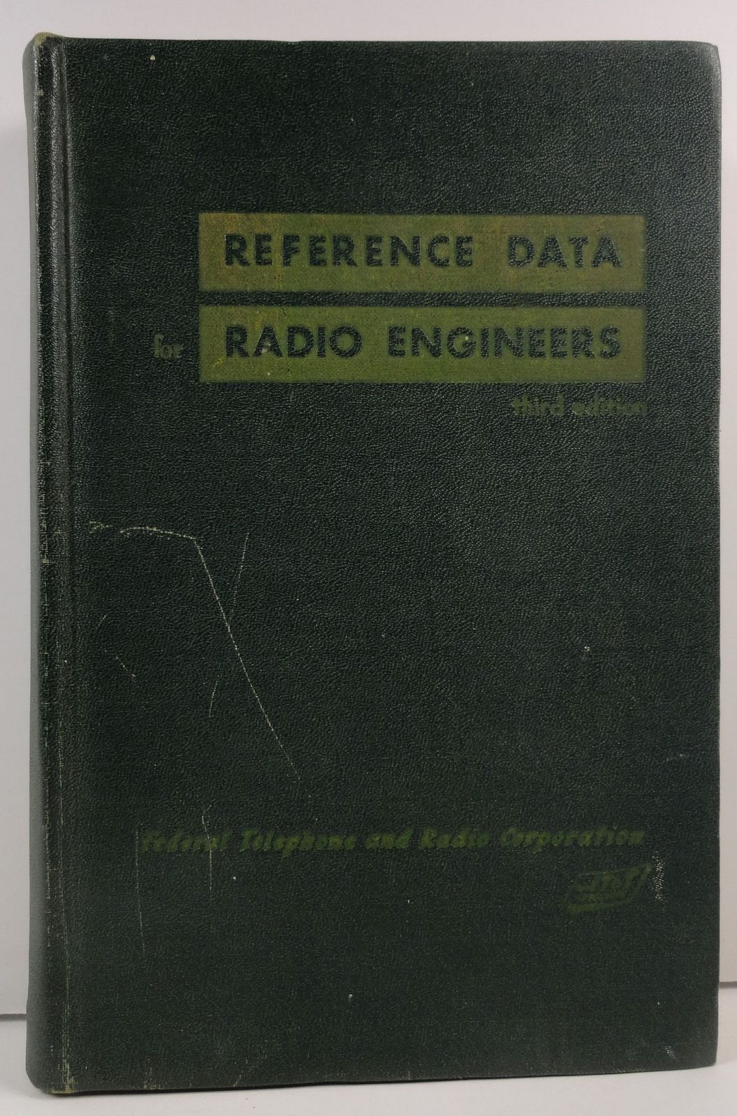 Primary image for Reference Data for Radio Engineers Third Edition 1949