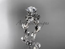 Platinum diamond celtic trinity knot wedding ring, engagement ring CT7248 - $1,170.00