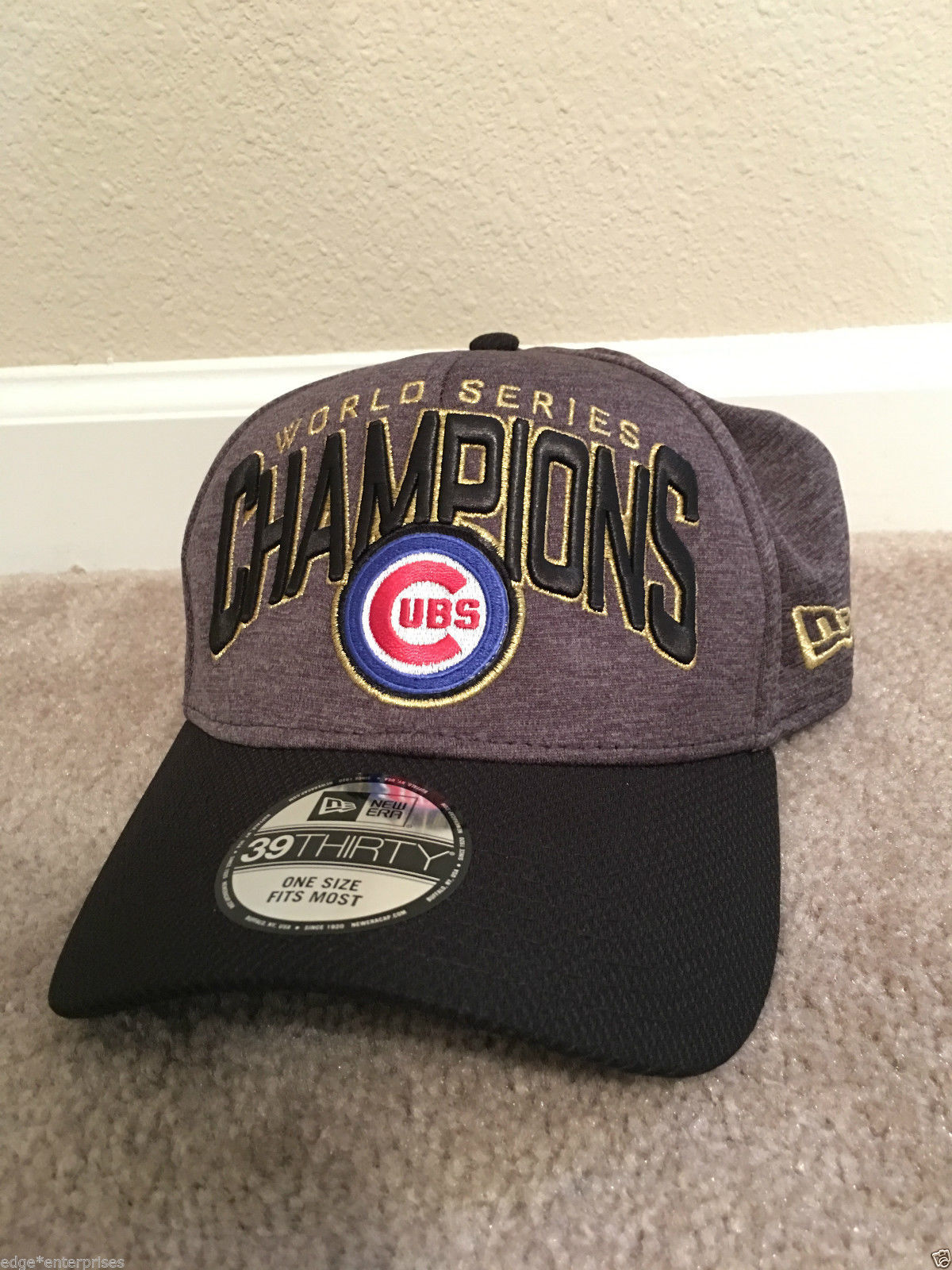 0e7651472b6 S l1600. S l1600. Previous. Official 2016 World Series Champions New Era  39THIRTY Hat Chicago Cubs SOLD OUT · Official ...
