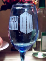 Dr. Who Inspired Wine glass - $15.00