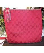 Gucci Monogram Crossbody Swingpack Messenger Ba... - $175.00