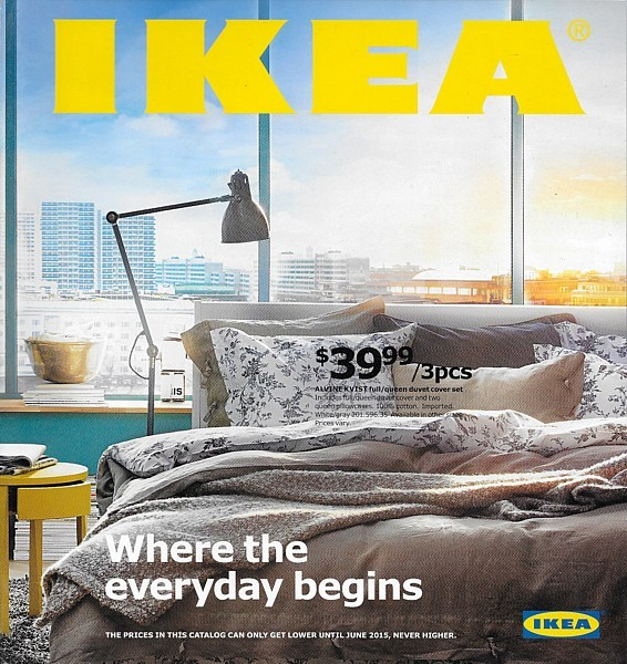 IKEA 2015 Home Furnishings Store Catalog Magazine Furniture Sweden USA