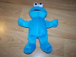 """Sesame Street 10"""" Cookie Monster Plush Animal 2010 Fisher Price Mattel EUC - $14.00"""