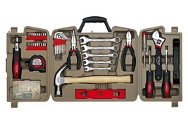 Household Tool Kit Forty Four Tools 144 Pcs Plastic Steel Do It Yourself  - $49.89