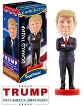 Donald Trump Bobblehead US President Doll Novelty Gag Collectible Action... - $33.72