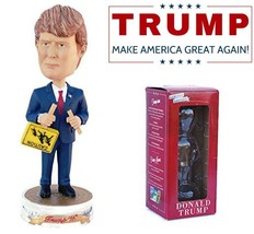 Donald Trump Bobblehead Presidential Collectible Action Figure Trump Bob... - $26.63