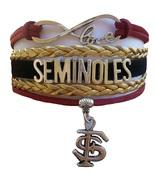 Florida State FSU Seminoles Fan Shop Infinity Bracelet Jewelry - $12.99