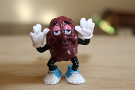 "Rare CALIFORNIA RAISINS 2"" Figurine Dancer - $25.00"