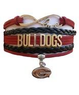 University of Georgia Bulldogs Fan Shop Infinity Bracelet Jewelry - $12.99